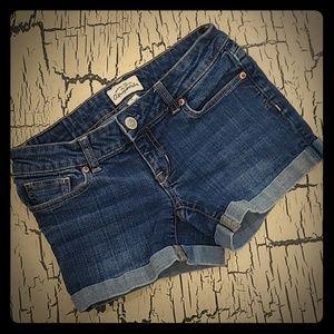 Aeropostale Ladies Denim Jean Shorts size 0